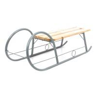 Sanie mare Pro, metal + lemn, 97 x 39 x 25 cm