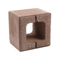 Boltar din beton Rivago 200 x 200 x 160 mm, brun