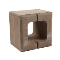 Boltar din beton Rivago 200 x 200 x 160 mm, crem