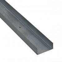 Profil special gips carton Rigips, din tabla zincata, Rigiprofil UW 100 x 40 x 4000 mm