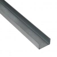 Profil special gips carton Rigips, din tabla zincata, Rigiprofil UW 75 x 40 x 4000 mm