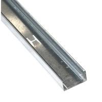 Profil gips carton din tabla zincata CW 75 x 37 x 4000 mm