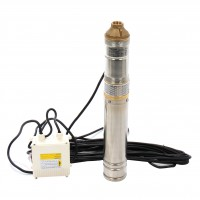 Pompa submersibila ape curate Wassertechnik WTX 2460 - 95, 2.4 mc/h, H max. 100 m, 2850 RPM, 1200 W
