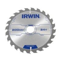 Disc circular, pentru lemn, Irwin Construction, 200 x 30 mm