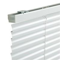 Jaluzele orizontale din aluminiu, 50 x 160 cm, alb