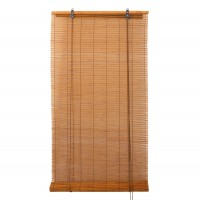 Stor Jamaica, Lariana, rulou lemn bambus, nuanta stejar, 80 x 160 cm