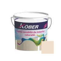 Vopsea lavabila interior, Kober, cafeniu V8370, 8.5 L