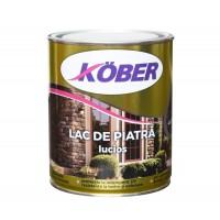 Lac pentru piatra Kober Ideal, interior / exterior, transparent, 0.75 L