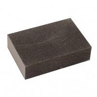 Burete abraziv pentru slefuire, Lumytools LT07911, 100 x 65 x 26 mm, granulatie 80