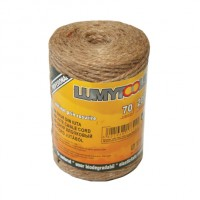 Snur din iuta, Lumytools LT17392, 200 g, 70 m