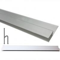 Dreptar aluminiu, pentru constructii, Lumytools LT18135, tip H, 2.5 m