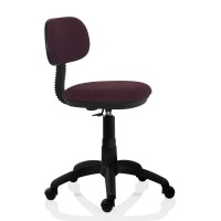 Scaun birou ergonomic pentru copii Lupo Kids, rotativ, textil E70, lila