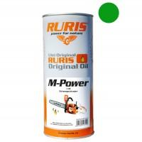 Ulei pentru ungere lant drujba / motofierastrau, Ruris M-Power, 1 L