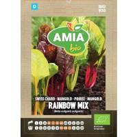 Seminte legume bio, mangold Rainbow mix