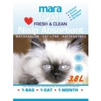 Nisip silicat pentru pisici Maracat 3.8 l