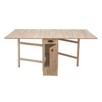 Masa bucatarie plianta, cu role + loc scaune, dreptunghiulara, 8 persoane, sherwood, 34 / 180 x 92 x 80 cm, 1C
