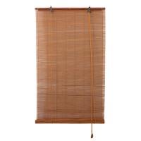 Stor Mauritius, Lariana, rulou lemn bambus, nuanta cires + stejar, 100 x 160 cm