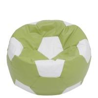Fotoliu fix minge de fotbal XXL, imitatie piele, diverse culori