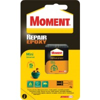 Adeziv pentru suprafete multiple, interior / exterior, Moment Repair Epoxy, transparent, 6 ml