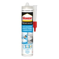 Silicon sanitar, transparent, Moment Baie si bucatarie, interior, 280 ml