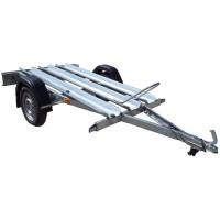 Remorca auto, transport moto, Repo, R13, 650 kg, 210 x 110 cm