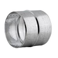 Mufa tabla galvanizata, pentru legatura tuburilor flexibile, D 130 mm