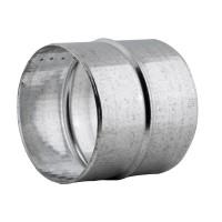 Mufa tabla galvanizata, pentru legatura tuburilor flexibile, D 300 mm