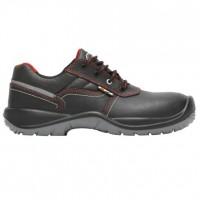 Pantofi de protectie Mugello Sicilia cu bombeu nemetalic piele + textil + poliuretan, negru S3, marimea 44