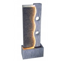 Fantana arteziana Grunman MZ13448GA, decoratiune gradina, cu pompa recirculare apa, 40 x 19.5 x 100 cm