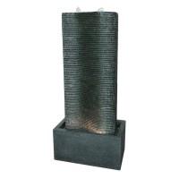 Fantana arteziana Grunman MZ14070GA, decoratiune gradina, cu pompa recirculare apa, 37 x 22.5 x 80.5 cm