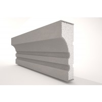 Ancadrament ferestre decorativ polistiren EPS NA117, 2000 x 120 x 40 mm