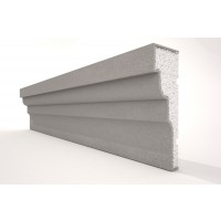 Ancadrament ferestre decorativ polistiren EPS NA120, 2000 x 100 x 40 mm