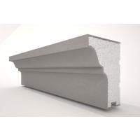 Solbanc din polistiren expandat NS110, acoperit cu rasina, exterior, 2000 x 120 x 80 mm