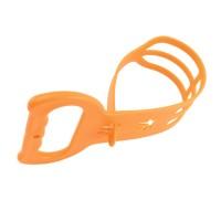 Organizator cabluri pentru prelungitor, Home NV CT, PVC, portocaliu, 435 x 120 mm