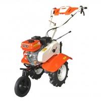 Motocultor pe benzina O-Mac 750 ECO, 7 CP, 3 viteze + roti transport