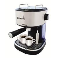 Espressor cafea Samus Obsession, cafea macinata, 15 bar, 850 W, capacitate 1.2 l, negru + gri