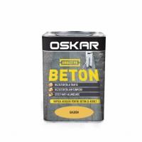 Vopsea acrilica Direct pe beton Oskar, exterior, galben, 0.75 L