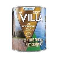 Lac antiderapant pentru terase Spor Villa Yacht, incolor, pe baza de apa, 2.5 L