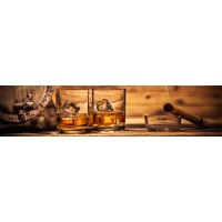 Panou decorativ bucatarie Splashback, compozit, luminescent, SPB 083, bar, 2600 x 750 x 3 mm