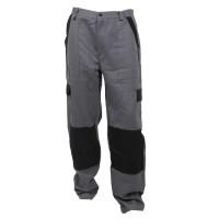 Pantaloni pentru protectie Athos, bumbac, gri-negru, marimea 56