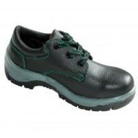 Pantofi de protectie cu bombeu metalic, piele, negru, S1, marimea 45