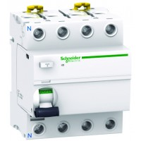 Intrerupator automat modular diferential Schneider Electric iID A9R41463 4P 63A