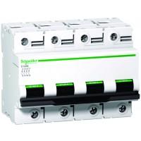 Intrerupator automat modular Schneider Electric C120N A9N18374, 4P, 100A, curba C