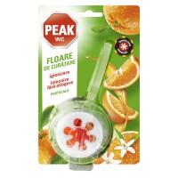 Odorizant wc baie Peak WC Floare de curatare, portocala, 45 g