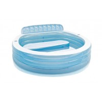 Piscina gonflabila, Intex Swim Center 57190NP, 224 x 216 x 76 cm