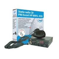 Statie radio auto CB PNI Escort HP 8001L, 4 W, 12 V, squelch manual, squelch automat reglabil, comutator blocare taste