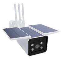 Camera de supraveghere inteligenta SafeHome PNI-PT950S, cu 3 panouri solare, Full HD, senzor PIR, difuzor, microfon, control Tuya