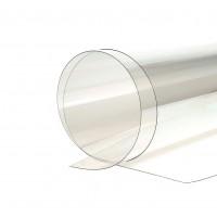 Policarbonat solid, transparent, 1250 x 1025 x 1 mm