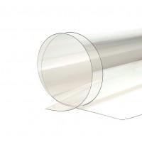 Policarbonat solid, transparent, 1250 x 513 x 1 mm