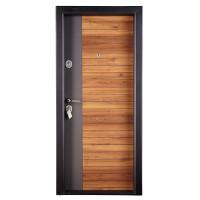 Usa interior metalica Megadoor Prestige 1 lux 260, nuc natur, dreapta, 200 x 88 cm